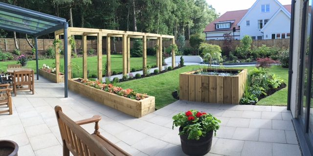 Landscaping - design, install and maintain - we offer the full package