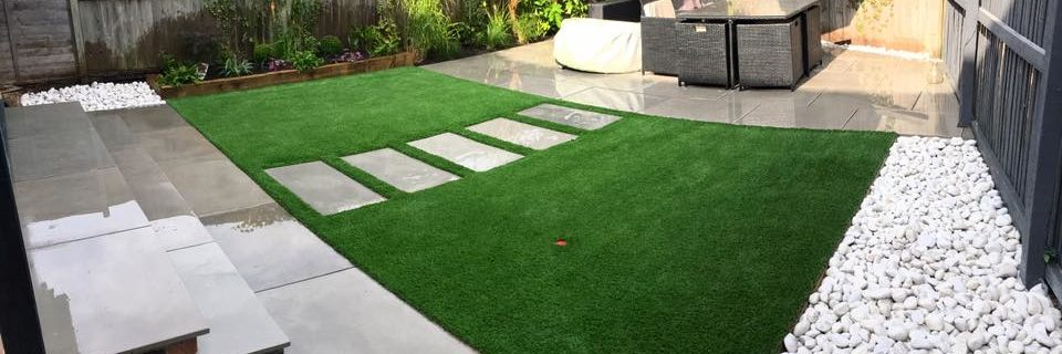 Complete landscaping from design to finish